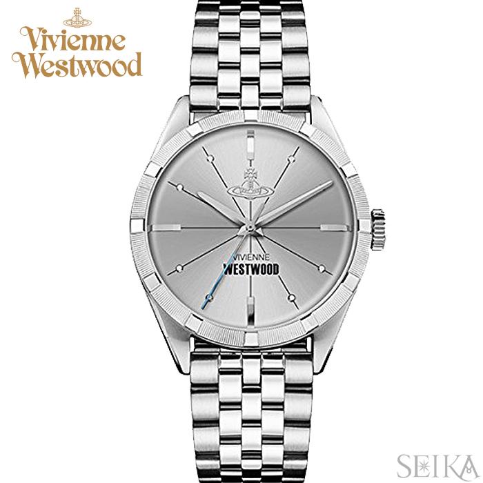 (ショップ袋プレゼント)ヴィヴィアンウエストウッドVivienne Westwood VV192SLSL時計 腕時計 メンズ シルバー