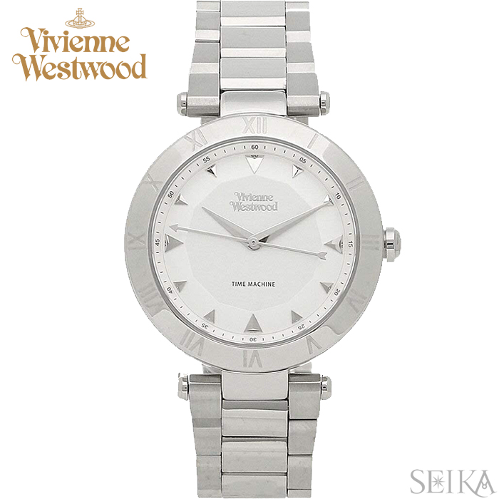 (ショップ袋プレゼント)ヴィヴィアンウエストウッド Vivienne Westwood VV206SLSL時計 腕時計 レディース シルバー(ty04)