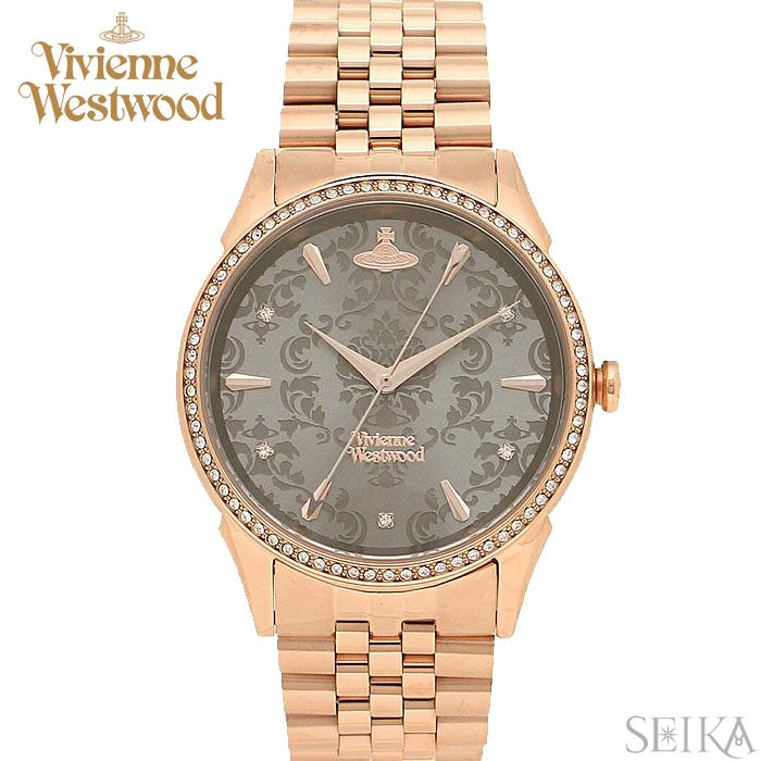 (ショップ袋プレゼント)ヴィヴィアンウエストウッド Vivienne Westwood VV208RSRS時計 腕時計 レディース ピンクゴールド ピンクゴールドの腕時計(ty04)
