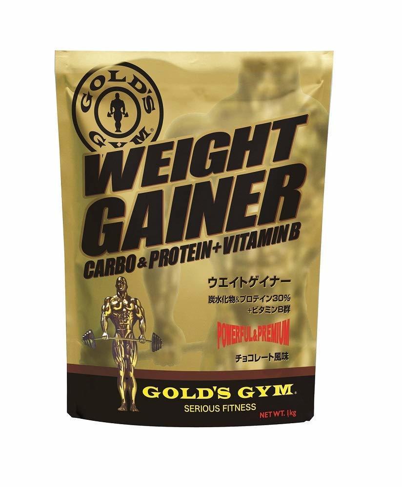 ゴールドジム(GOLD'S GYM) ウエイトゲイナー チョコレート風味 3kg