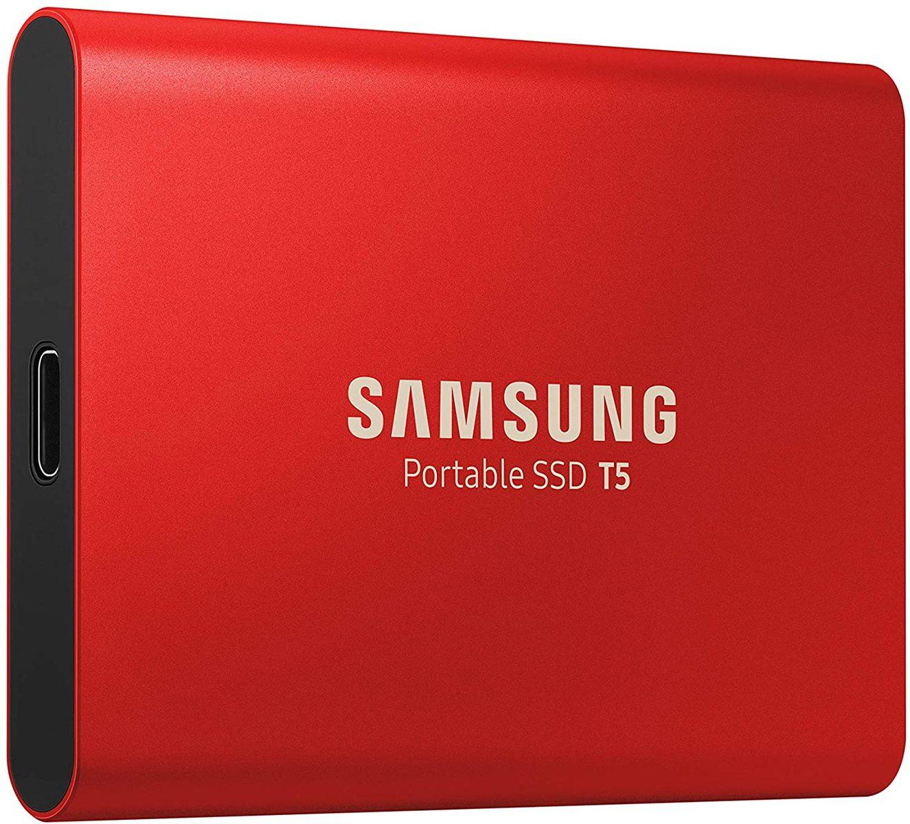 ベストセラー人気no1サムスン Samsung 外付けSSD T5 500GB USB3.1 Gen2対応 正規代理店保証品 MU-PA500R 5☆大好評 PlayStation4 EC 動作確認済 限定赤モデル お得クーポン発行中