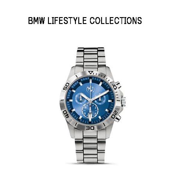 【BMW 正規純正品】スポーツ・クロノグラフ(メンズ) スチール・ブルー 80262406691