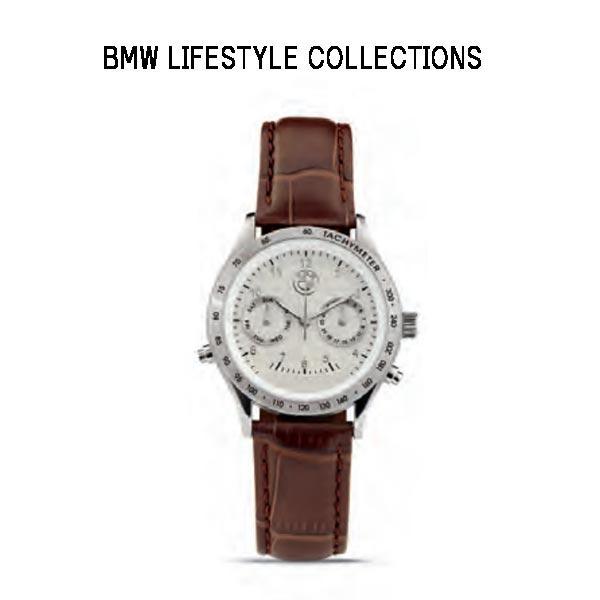 【BMW 正規純正品】ウォッチ・デイデイト(レディース) シルバー 80262406686