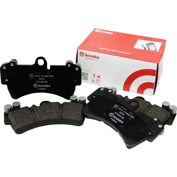 ブレンボ(BREMBO) ブレーキパッド フロント ブラック PORSCHE 911 (991) 991MA103 11/11~「P65 025」