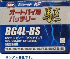 【送料無料】高性能ゲルタイプ オートバイ用バッテリー駆 (18.0Ah) BG20L-BS