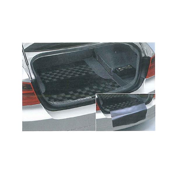 【送料無料】【BMW純正 3シリーズ F30用】ラゲージ・ルーム・マット・シャギー ブラック 90542299893