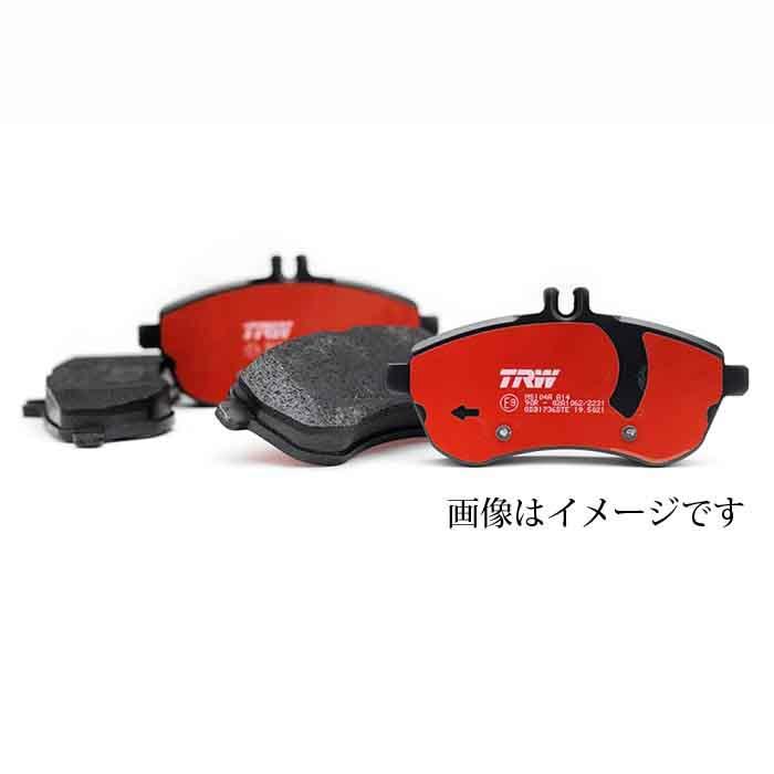 【送料無料】メルセデスベンツCLS(W219)用 Fブレーキパッド 型式:219376