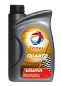 【送料無料】【エンジンオイル】トタル(TOTAL)クォーツ レーシング 10W-50 1L×18缶セット