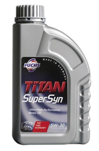 【100%化学合成油】エンジンオイル FUCHS(フックス) TITAN(タイタン) SUPERSYN 5W-30 20L A789503