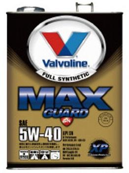 【4L×6缶セット】【送料無料】バルボリン(Valvoline) エンジンオイル MAX GUARD XP 5W-40/5W40