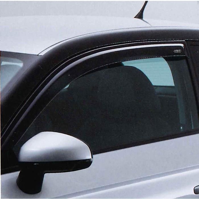 Audi純正 アウディ A1 サイドバイザーJ8XFC3A01 (1セット ドア2枚分)