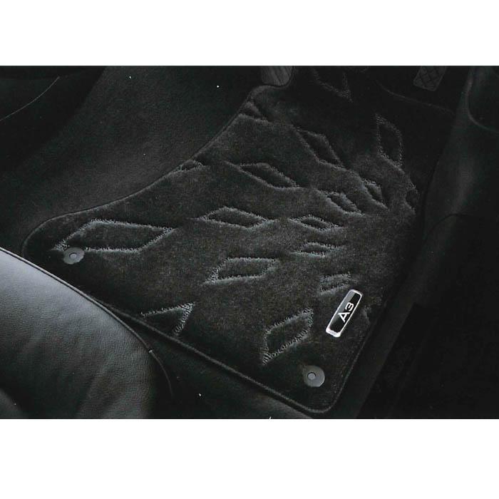Audi純正 アウディ A3純正 フロアマット ハイグレード J8VBM5R14HGB4A ブラック