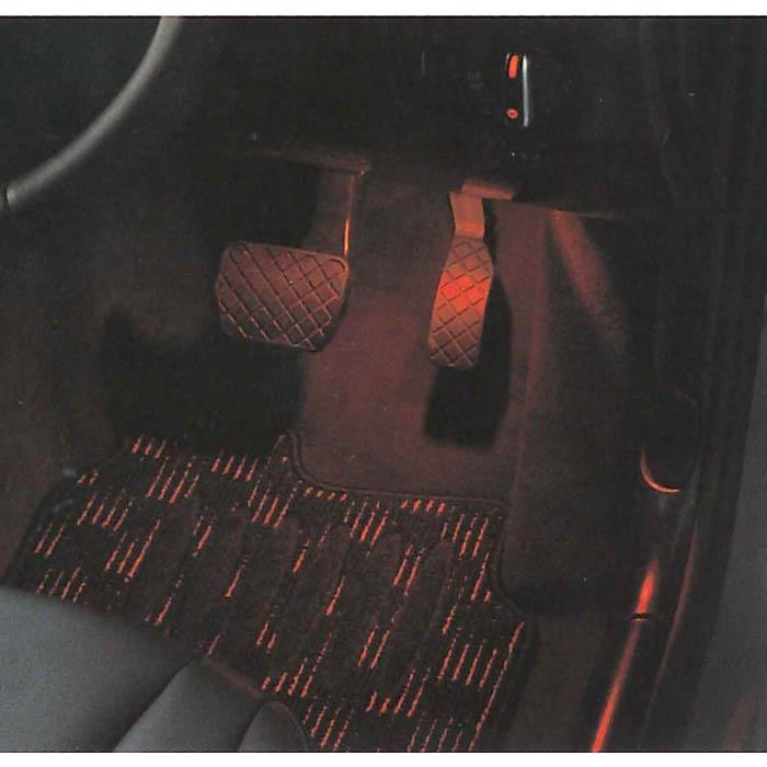 Audi純正 アウディ LED フットランプ用赤色バルブ J8XDB8R01 A4 A6 TT Q3 Q5