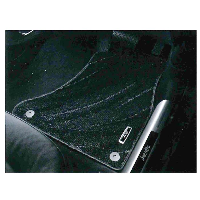 【受注生産品】Audi純正 アウディ A5純正 フロアマット コンフォート J8TGG1L15CFBL4 ブラック