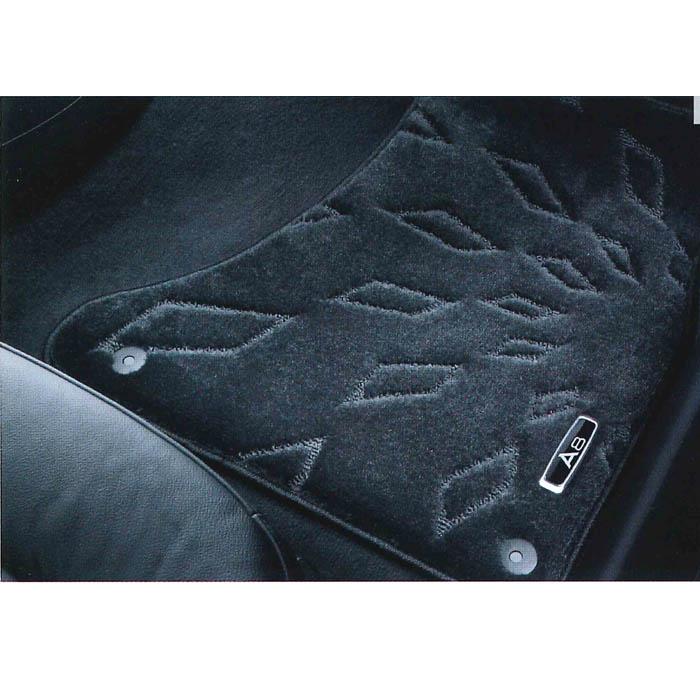 Audi純正 アウディ A8純正 フロアマット ハイグレード J4HBM5R11HGBL4 ブラック