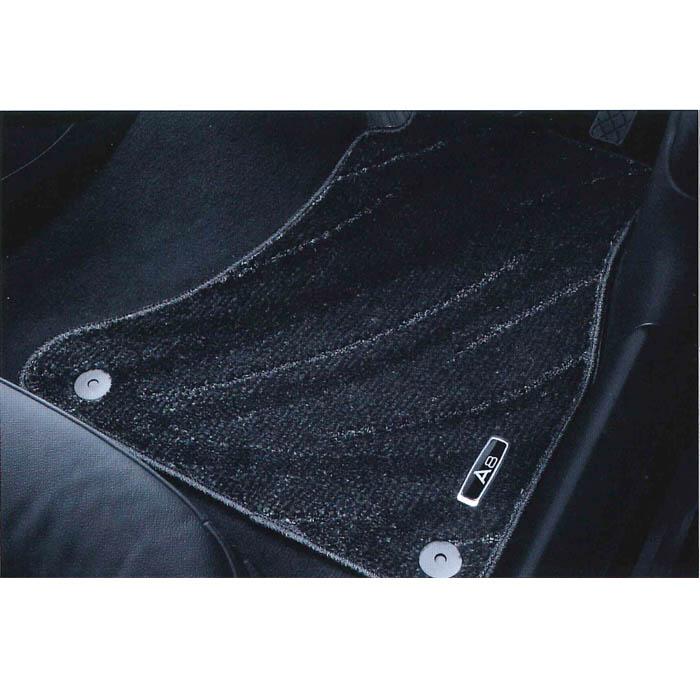 Audi純正 アウディ A8純正 フロアマット コンフォート J4HGG1R15CFBL5 ブラック