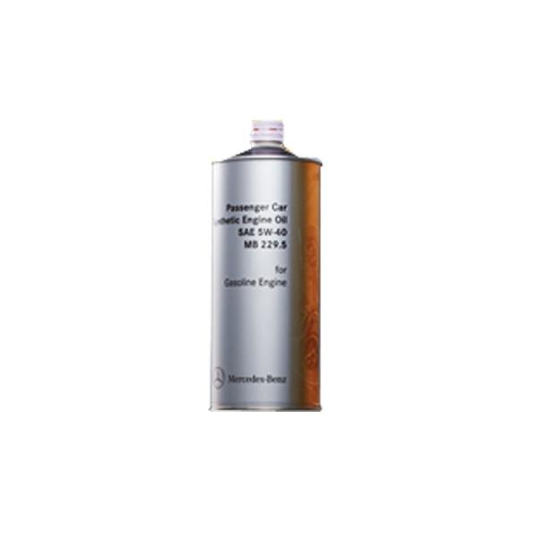 【お買い得10缶セット】ベンツ純正エンジンオイル スタンダード 5W-40 0009898201KPN6 1L×10