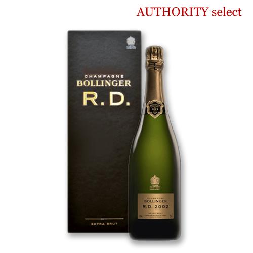 使い勝手の良い 英国王室御用達ボランジェの粋が詰まったキュヴェ ボランジェ R.D. 2002 箱付き シャンパーニュ お気に入 wine シャンパン スパークリング