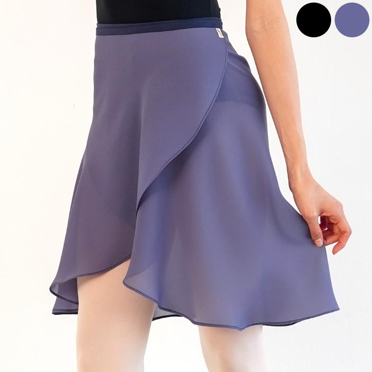 s05 g05 選べる2丈 2カラー シングルカラーラップスカート vol.01 バレエ スカート M L 無地 マーケティング ブルー 巻きスカート グレー ブラック オリジナル 大人 送料無料 シンプル 韓国 透け感 フレア 上等 バレリーナ