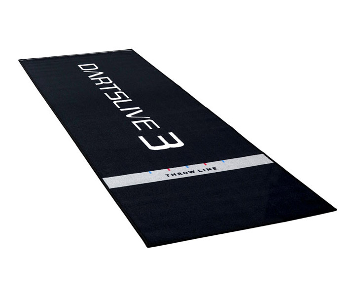 ダーツマット 正規逆輸入品 ダーツライブ DARTSLIVE3 送料無料新品 防炎ラベル付スローマット