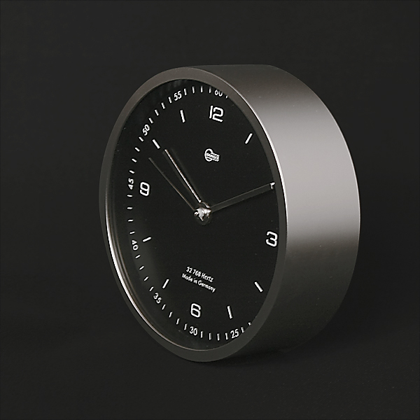 BARIGO / BG601-5時計(マットシルバー)Φ104×D35mm 355g 単5電池1本(別売)シンプル シンプルな時計新生活 一人暮らし 入学祝い
