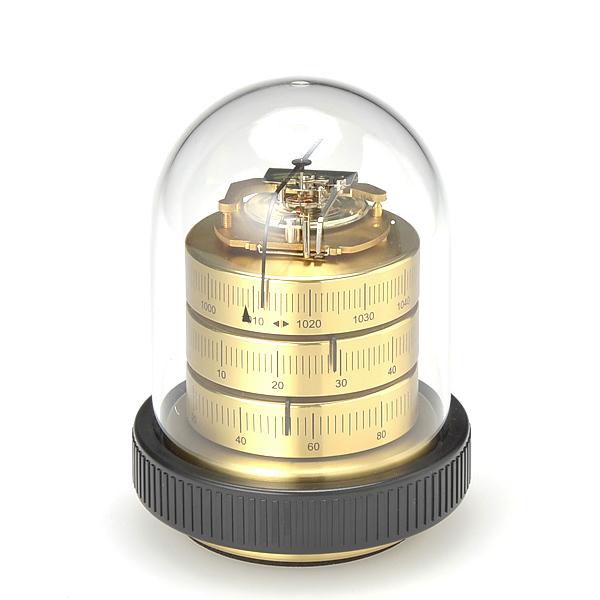 【送料無料】BARIGO / 温湿気圧計 S (ゴールド)Φ90xH110mm【楽ギフ_のし】