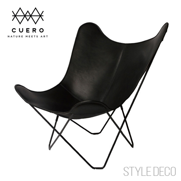 BKF Chair B Kay F Chair / Butterfly Chair (black Leather) ...