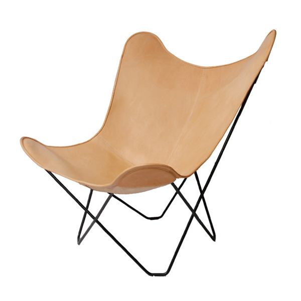 BKF Chair ビーケーエフ Chair And Butterfly Chair Natural Leather.