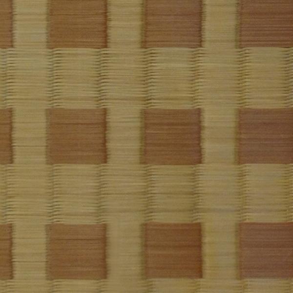 添島勲商店 / 紋織 い草ラグロッタ ベージュ (190×190) リバーシブル