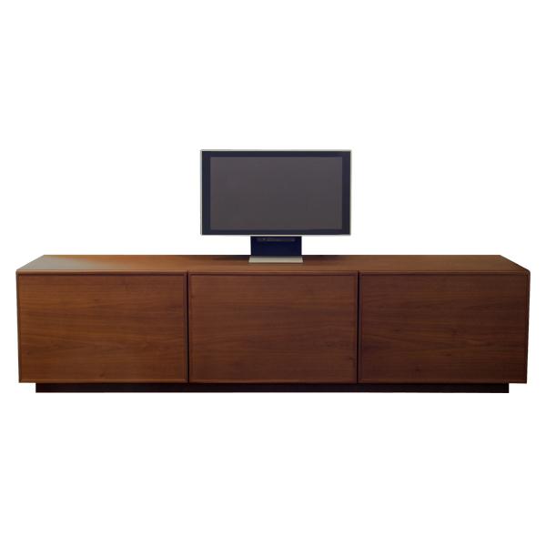 CLAIR TV board WN 1800クレアTVボード 1800 ウォールナット(ウレタン仕上げ)グリッド3W1800×D454×H450mm