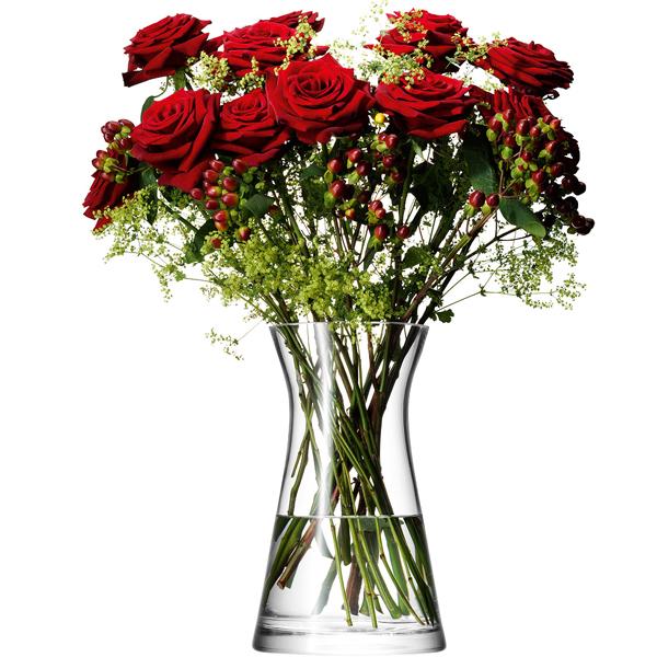 LSA / FLOWER MIxed Bouquet VASE clearLFW08 フラワー ベース(W17×D17×H29m)箱入り【楽ギフ_のし】