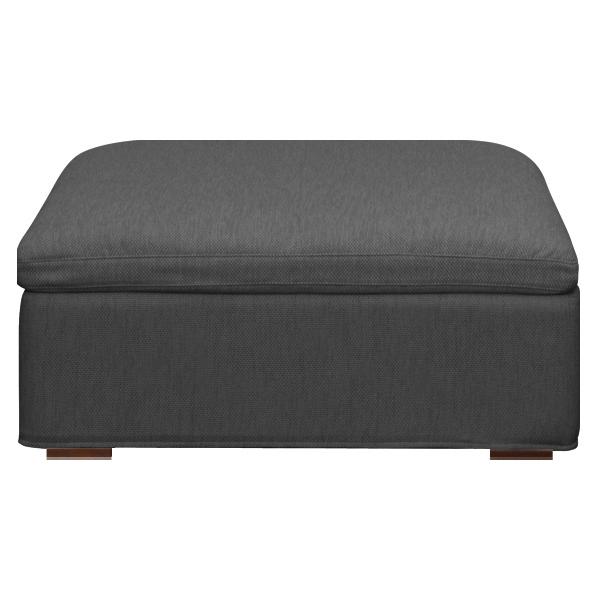 Toledo sofa / トリード ソファ スツール張地:ファブリック 座クッション:フェザー、ウレタン 脚:ウォールナット本体:W650×D650×H380mm