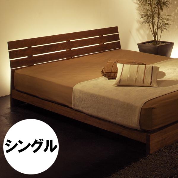 WESTERLY bed frame(single)ウェスタリー ベッドフレーム (シングル)無垢材オイル仕上げすのこ:檜(ひのき)サイズ:W1030×D2066×H707(FH180)mm