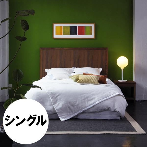 WILLKES bed frame(single)ウィルクス ベッドフレーム (シングル)ヘッドボード:突板ウレタン仕上げフレーム:無垢材ウレタン仕上げすのこ:檜(ひのき)サイズ:W1010×D2020×H1200(FH250)mm