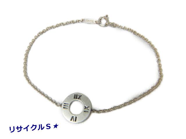 アトラスブレスが入荷いたしました ティファニー ブレス アトラス ピアスド ブレスレット サークル タグ SV925 シルバー あす楽 コンビニ受取 推奨 レディース 日本最大級の品揃え 銀製 中古 アクセサリー bracelet silver 送料無料