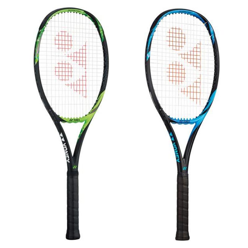 7cc3baab2c2b81 ヨネックス YONEX テニス ラケット(硬式テニス 用ラケット(フレームのみ)) Eゾーン 98(SONY製スマートテニス センサー対応 )17EZ98ブライトブルーライムグリーン