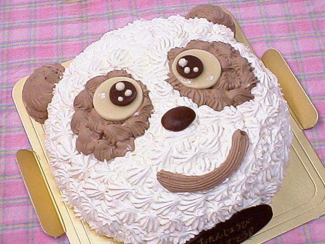 美品 マート 笑顔がこぼれる パンダちゃん 誕生日ケーキ キャラクター記念日バースデー
