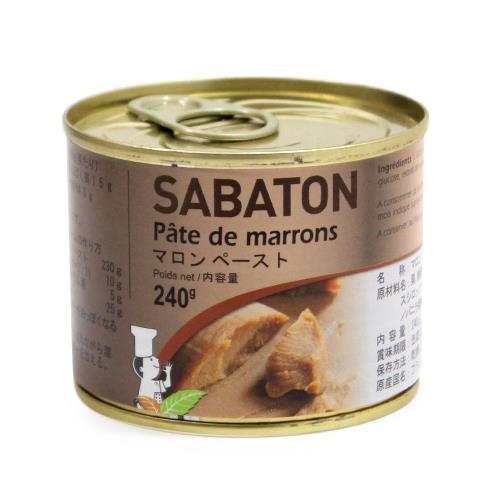 実物 フランス伝統マロンの老舗 サバトン マロンペースト 返品不可 240g