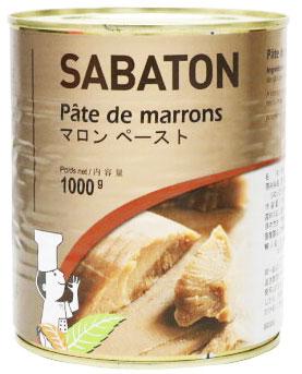 フランス伝統マロンの老舗 サバトン マロンペースト ☆最安値に挑戦 1kg 無料