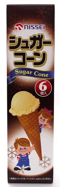 ソフトクリーム総合メーカーの 日世 シュガーコーン 激安☆超特価 1箱 ギフ_包装 6個入り