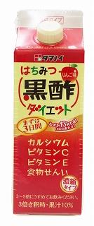 美容と健康に タマノイ はちみつ黒酢ダイエット 500ml×12本 1ケース 濃縮タイプ ギフ_包装 送料無料 激安 お買い得 キ゛フト