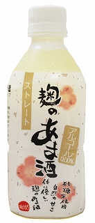 砂糖不使用 ストレートタイプの甘酒 味の坊 麹のあま酒 ストレート 350ml×10本 卓出 超歓迎された