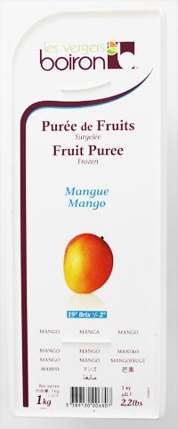 冷凍フルーツのスペシャリスト 冷凍 ボワロン 1kg 即日出荷 マンゴーピューレ 価格 交渉 送料無料