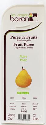 冷凍フルーツのスペシャリスト [冷凍] ボワロン ポワールピューレ 1kg×6個(1ケース) 洋なし 洋梨 ラ・フランス