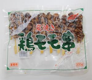 業務用 記念日 ●手数料無料!! 冷凍 ジャパンフード 炭焼き 鶏モモ串 300g 10本