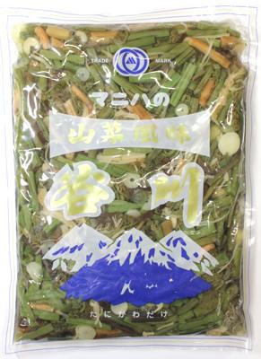 山菜しょうゆ漬け マニハ食品 業務用惣菜 山菜風味 谷川 1kg