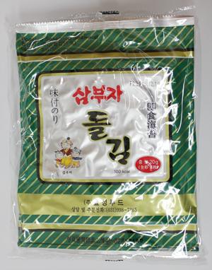 韓国味付のり 全形6枚×5袋 期間限定特価品 人気急上昇