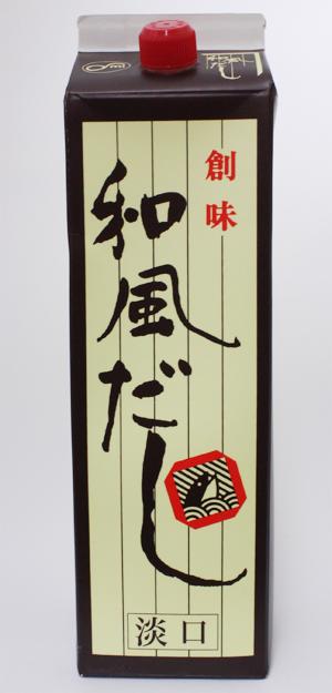 和風料理のだしつゆとして最高です 創味 日本メーカー新品 和風だし 人気海外一番 淡口 1.8L