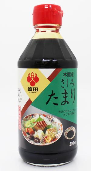 売れ筋 大豆の旨みひときわさしみの決め手 盛田 本醸造さしみたまり 低廉 300ml
