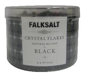 イカ墨のパスタやサラダ等に 地中海クリスタルフレークソルト ブラック 毎週更新 送料0円 125g